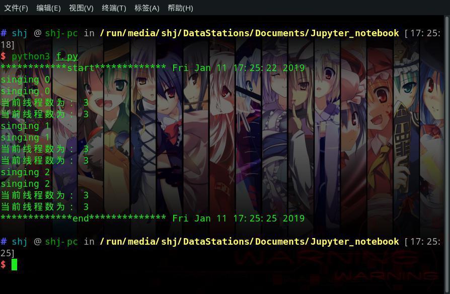 Python3学习笔记_H(进程、线程)