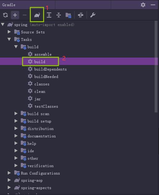 Spring5.x源码编译及导入IDEA全过程及踩坑记录