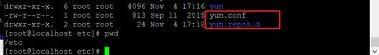 Linux redHat7.2配置yum源
